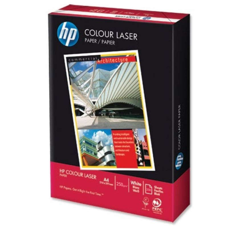 Comprar Papel Laser color 250 gramos - HP Colour Laser - satinado A4