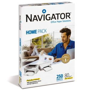 Papel Navigator Home Pack Multifunctional 250 hojas, Din A4