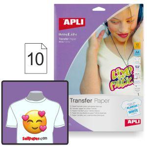 Papel Transfer camisetas Apli