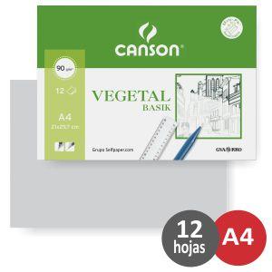 Papel Vegetal Din A4
