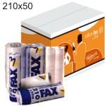 Papel fax 210x50x25 termico