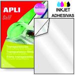 Transparencias Adhesivas impresoras inkjet