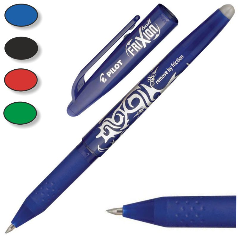 4 Colores/ /Bol/ígrafo retr/áctil de tinta borrable Pilot Frixion Punta de 0,5/mm