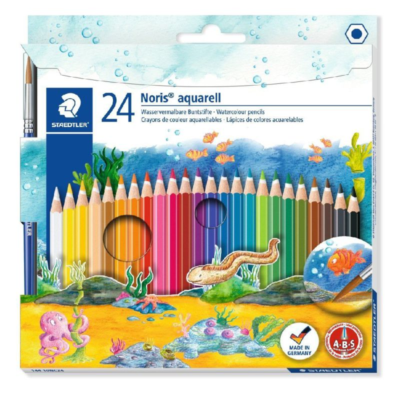Comprar Lapices Acuarelables Staedtler Noris Aquarell 24 colores
