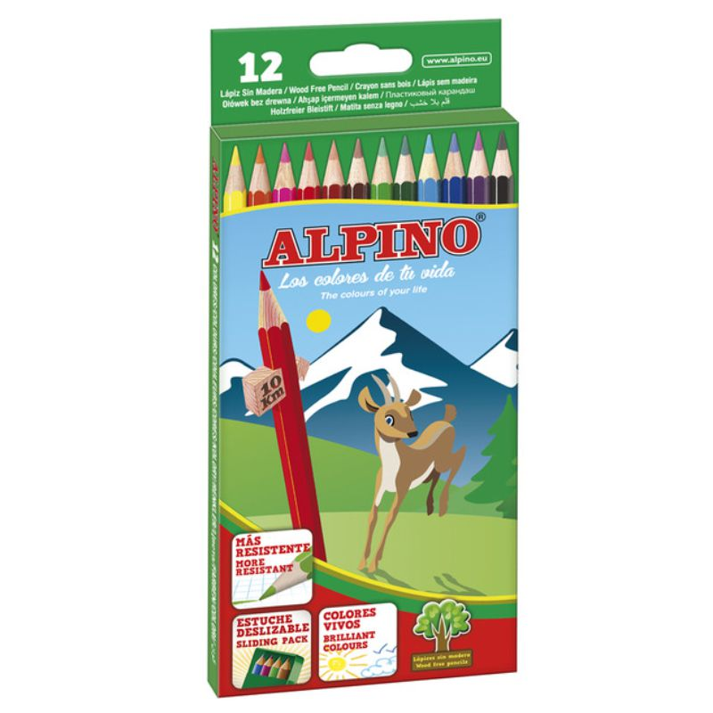 Lapices colores Alpino 12