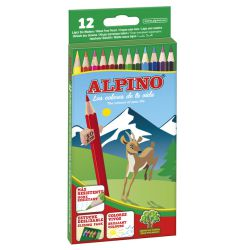 Lapices colores Alpino 12 pinturas WFC sin madera