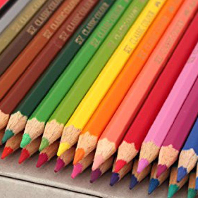 Lapices de colores pinturas madera faber castell 24 for Pintura para madera