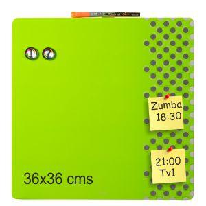 Pizarra Magnetica color verde
