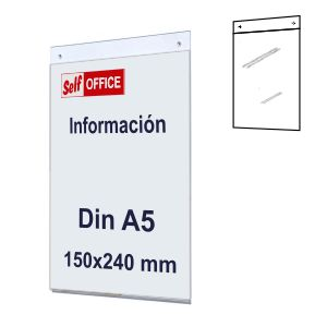 Placa señalizacion pared tipo