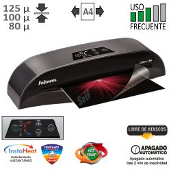 Plastificadora Fellowes Calibre A4 125 Micras