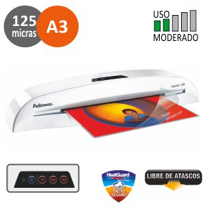 Plastificadora Fellowes Cosmic 2 Din A3 125 micras