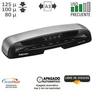 Plastificadora Fellowes Saturn 3i A3, 125 micras