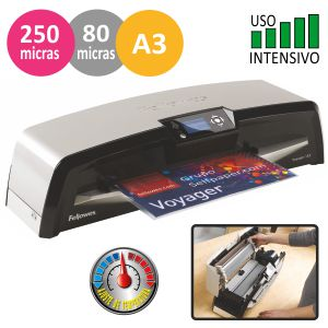 Plastificadora Fellowes Voyager A3, profesional
