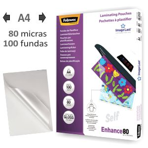 Papel plastificar fundas Fellowes