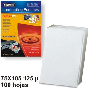 Carteritas plastificar Fellowes 75x105