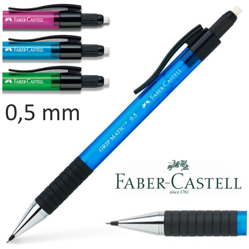 portaminas faber castell grip matic 05 mm