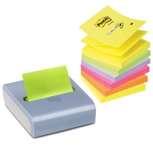Post-it Z Colores 8u + Dispensador Gratis - Notas adhesivas