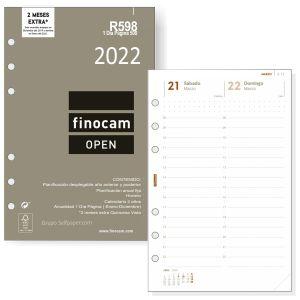 Recambio Agenda Finocam Open