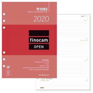Recambio Agenda Open R1093,