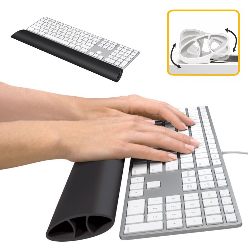 Reposamuñecas flexible teclado Fellowes