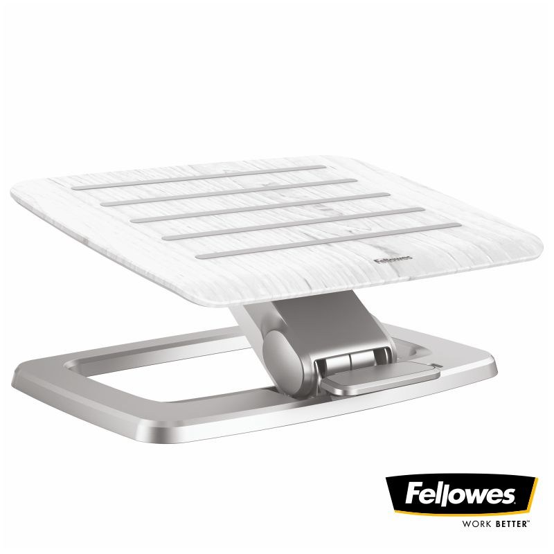 reposapies automatico fellowes hana blanco