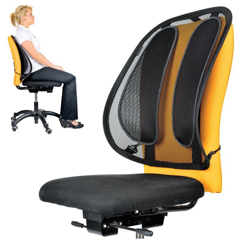 Cojin Lumbar para silla de Oficina Mesh Rejilla Office Suite ...