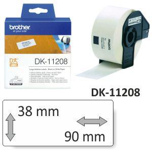 Rollo etiquetas Brother DK-11208