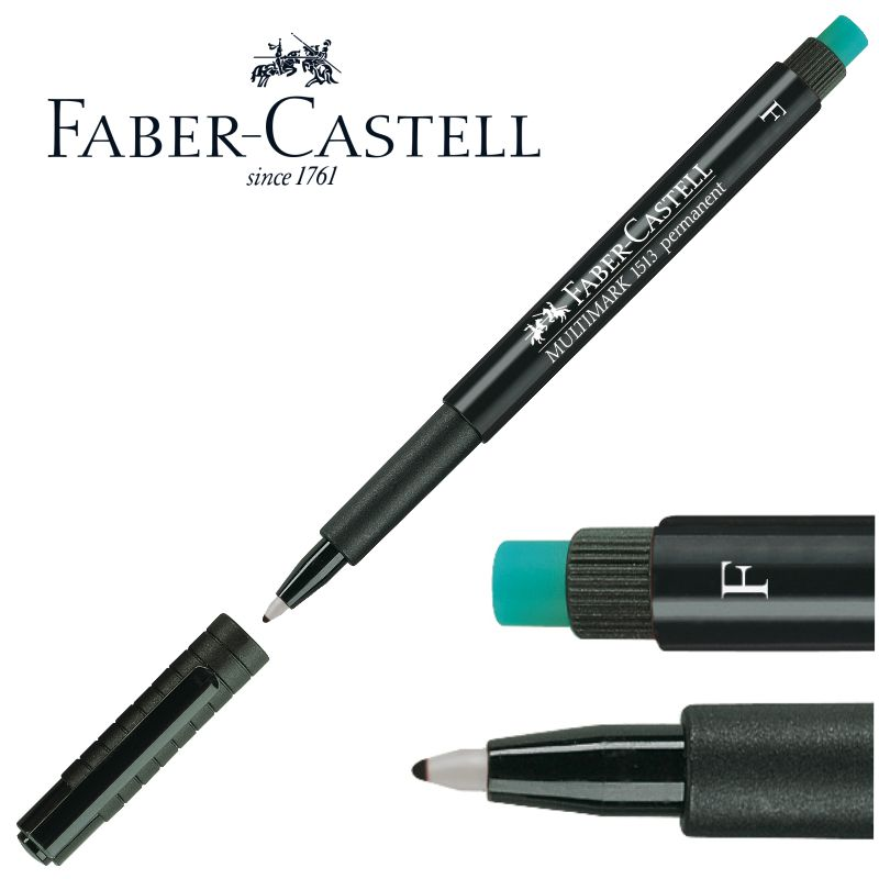 Comprar Rotulador Faber-Castell Multimark permanente, F, 0,6 mm