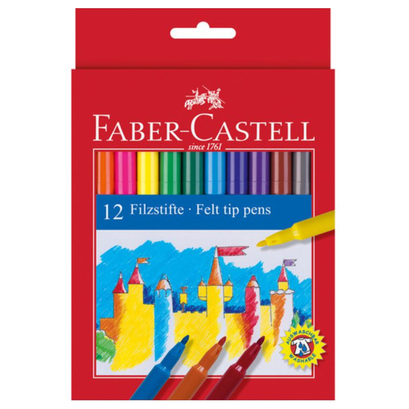 rotuladores 12 colores faber castell