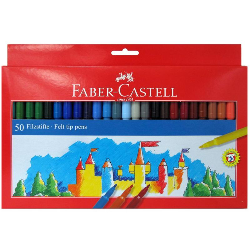 rotuladores faber castell 50 colores