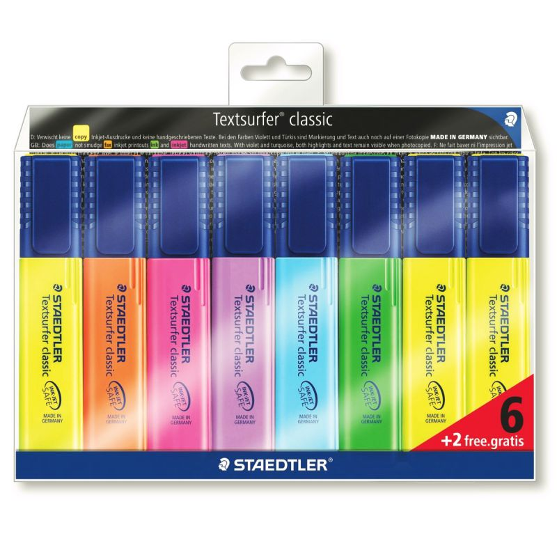 Rotuladores fluorescentes Staedtler Textsurfer