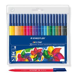 Rotuladores Staedtler 326WP20 Noris 20 colores lavables