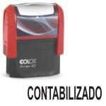 Cuño sello automatico Contabilizado