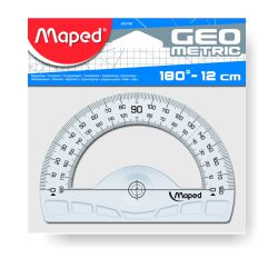 Semicirculo Maped Graphic 12 cms - transportador angulos