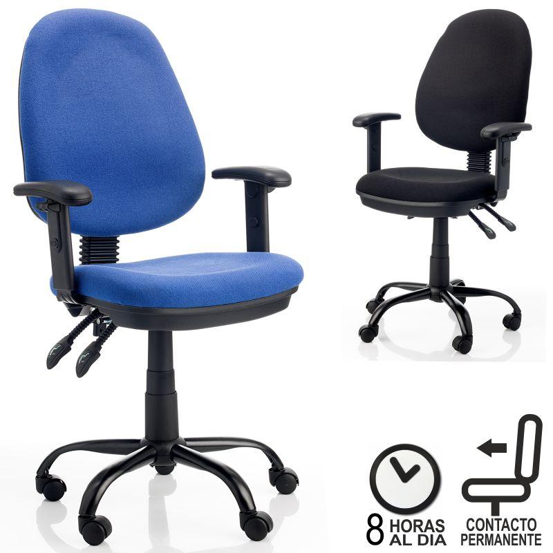 Silla de Oficina Toupa - apoyabrazos regulable - ergonomica ...