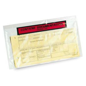 Sobres adhesivos contiene documentacion
