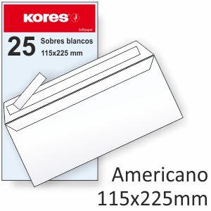 Sobres 115x225 americanos L