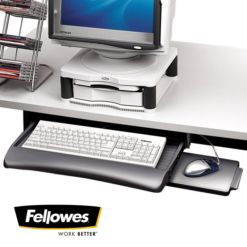 soporte teclado extensible fellowes manager 93804