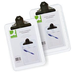 Tabla portanotas con pinza