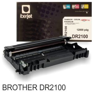 Tambor Compatible Brother DR2100, Fotoconductor reciclado