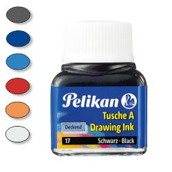 Tinta China Pelikan 523 - bote 10 ml