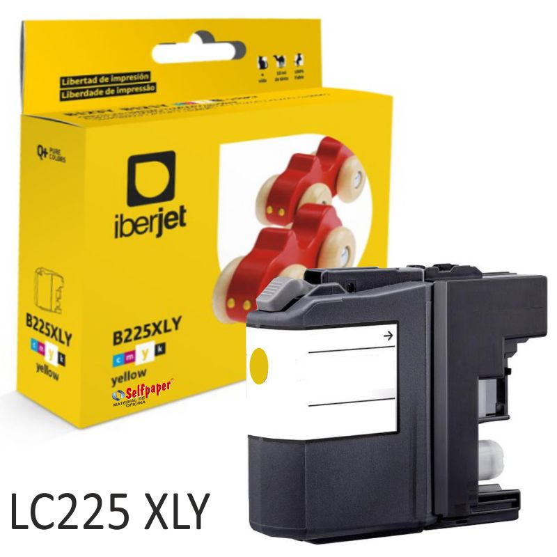 Tinta compatible Brother LC225XLY