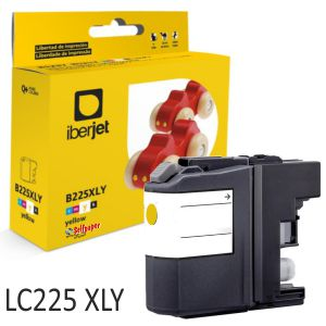 Tinta compatible Brother LC225XLY cartucho Amarillo 17,2ml
