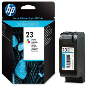 Cartucho original HP nº 23 color tinta impresora C1823D