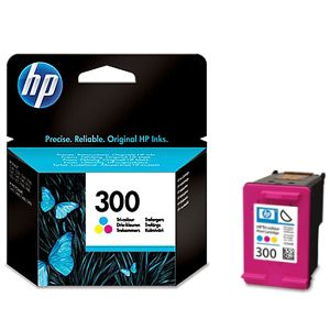 Tinta Hp 300 color - Cartucho  CC643EE Color 165 Paginas