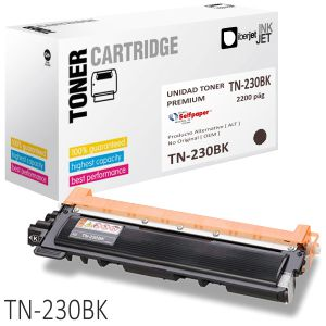 TN230BK toner compatible Brother TN230BK Negro 2200 Pags