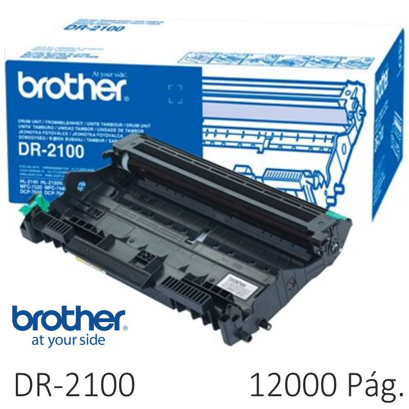 Comprar Tambor fotocoductor Brother DR2100 12000 Paginas