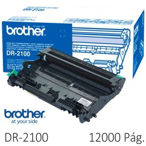 Tambor fotocoductor Brother DR2100 12000 Paginas