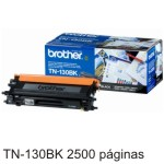 Toner Original Brother TN-130BK 2500 Pags TN130BK TN 130BK