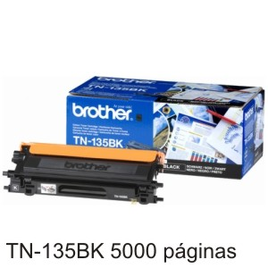 Brother TN135BK Toner original